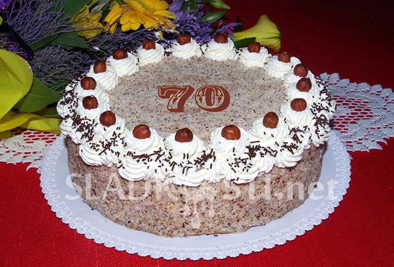 Lískooříškový dort Jadran